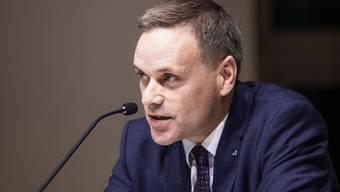 Fast täglich im Kontakt mit anderen Gesundheitsdirektoren: Regierungsrat Jean Pierre Gallati.