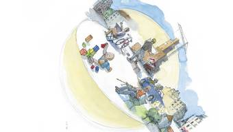 Jürg Orfei hat das neue Buch illustriert.
