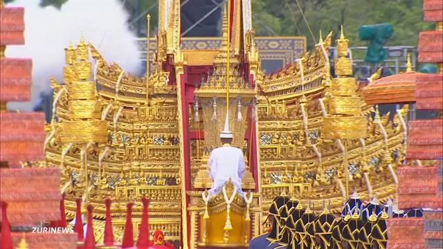 100 Millionen teure Trauerfeier für König Bhunmibol