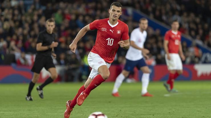 Die Schweizer Nati bleibt gegen England sieglos. In einem weitgehend unspektakulären Test unterlag die Schweiz dem WM-Halbfinalisten 0:1.