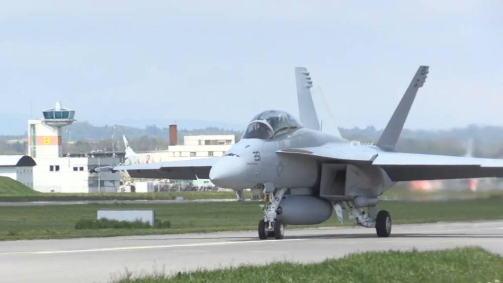 Die neue F/A-18 Super Hornet im Test der Schweizer Armee