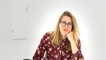 «Ich will deine Speicherkarte neu programmieren»: Rebecca Kunz im weissen Raum. kenneth nars