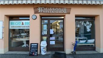 Dieser Dorfladen ist in Läufelfingen bald Geschichte.Juri Junkov