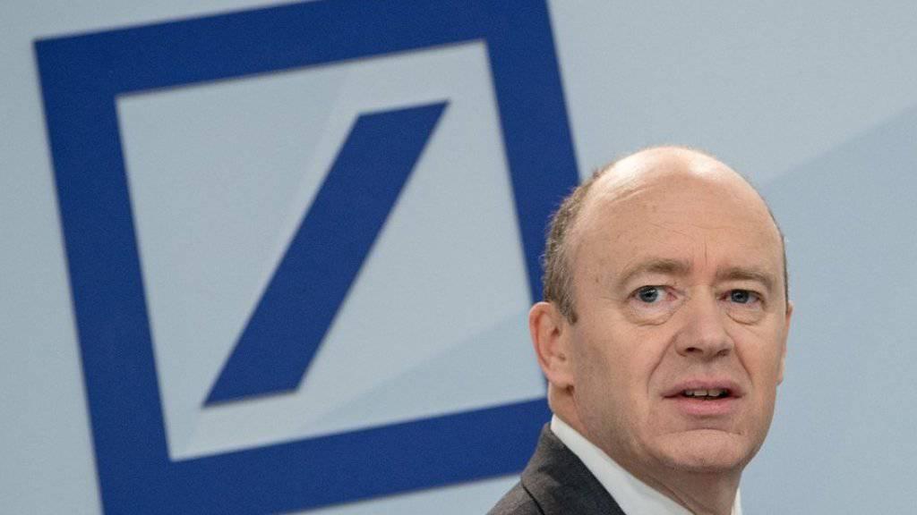 John Cryan baut die Deutsche Bank um (Archivbild).
