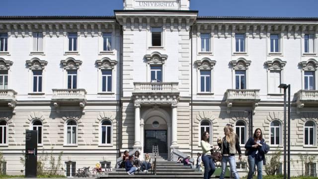 Das Hauptgebäude der Tessiner Uni in Lugano (Symbolbild)