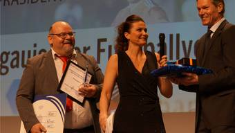 Impressionen von der 5. Gala des Aargauischen Fussballverbands (AFV) im Trafo Baden