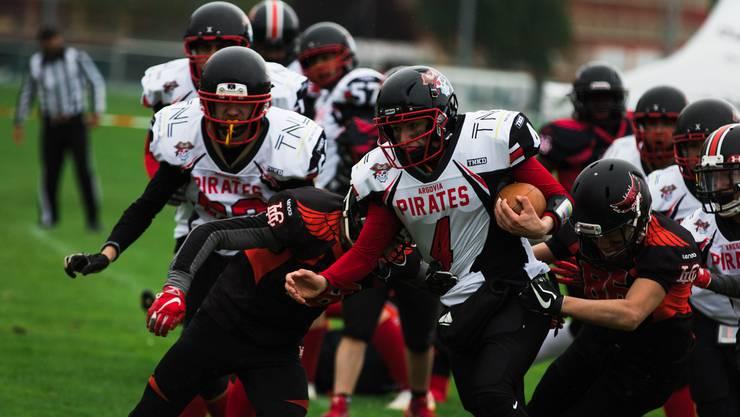 Die Argovia Pirates sind auf Zuwachs angewiesen, wenn sie in die höchste Schweizer Liga aufsteigen wollen.