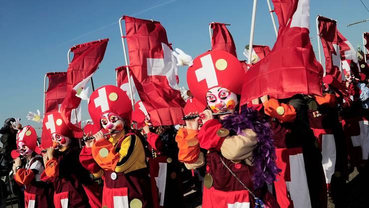 Soll Weltkulturerbe werden: die Basler Fasnacht.