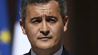 Gegen den französischen Innenminister Darmanin wird wegen eines Vergewaltigungsvorwurfs ermittelt. (Archivbild)