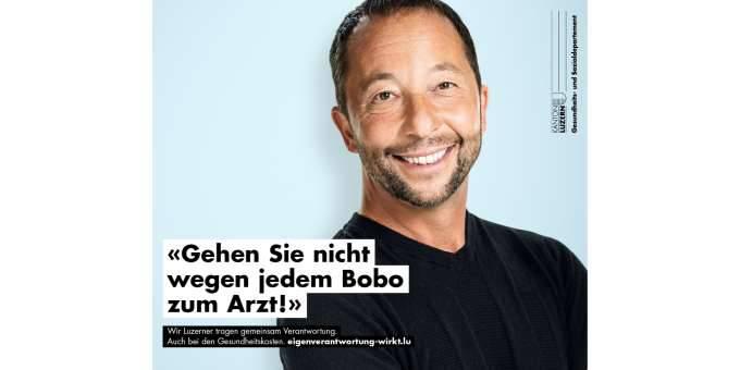 Bobo Gesundheitskampagne Kanton Luzern