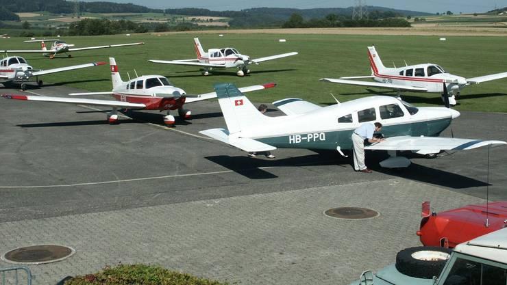 Die Motorflugschule Fricktal in Schupfart.