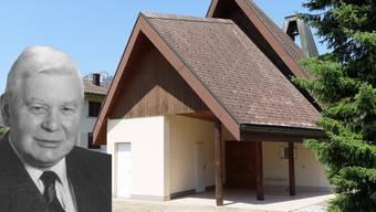 Robert Flück war massgeblich am Kapellen-Projekt beteiligt.