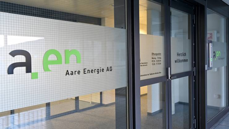 aen Aare Energie AG sbo Geschäftssitz im Hammer 2 Olten