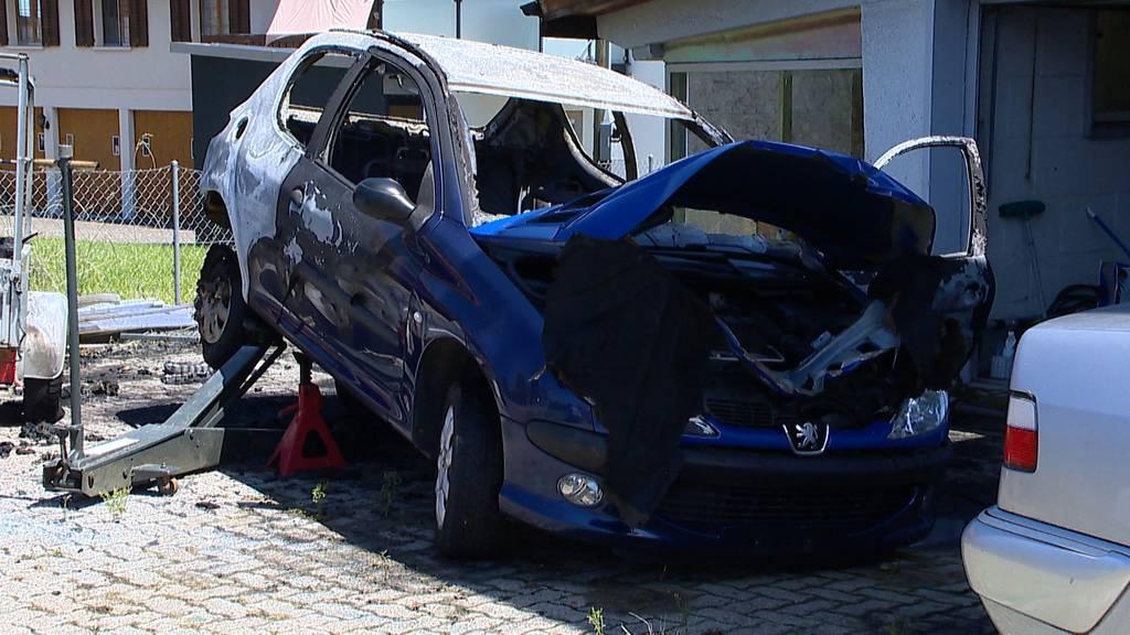 Zwei Verletzte bei heftigem Brandausbruch in Siegerhausen (TG)