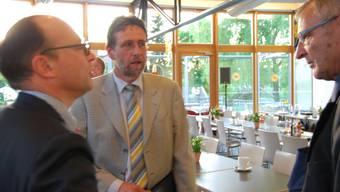 «Es hat nicht sollen sein»: Wärmecontracting-Chef Anselm Hagenbuch (rechts). (Bild: sl)