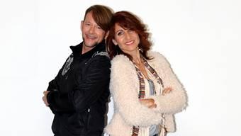 Wirbeln gemeinsam auf dem Tanzparkett: Michael von der Heide und Mariella Farré.