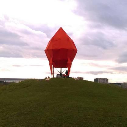 Selbst das Bühnenbild für den Big Point in Bern wurde von einem Solothurner Team gebaut.