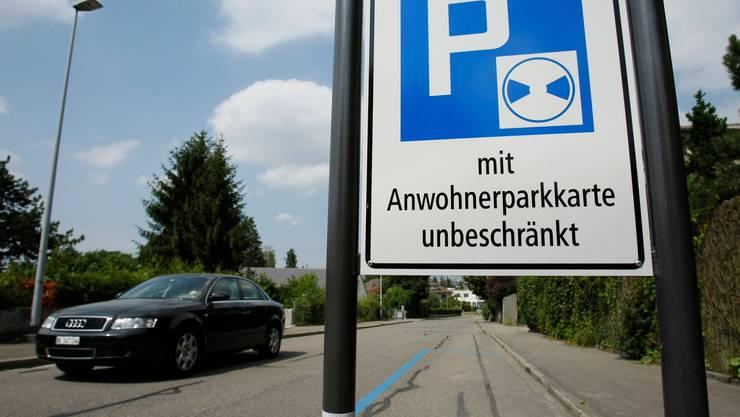 Parkkarte für Anwohner. (Symbolbild)
