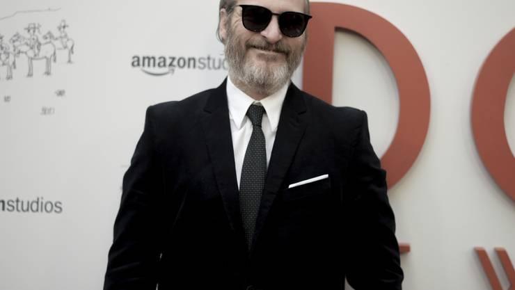 Kaum einer verändert sich für seine Rollen so stark wie Joaquin Phoenix - dabei hasst der US-Schauspieler diesen Teil seines Jobs so sehr. (Archivbild)