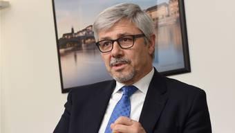 Carlo Conti, Präsident von Basel Tourismus, wünscht sich einen zusätzlichen Top-Event im Jahres-Kalender.