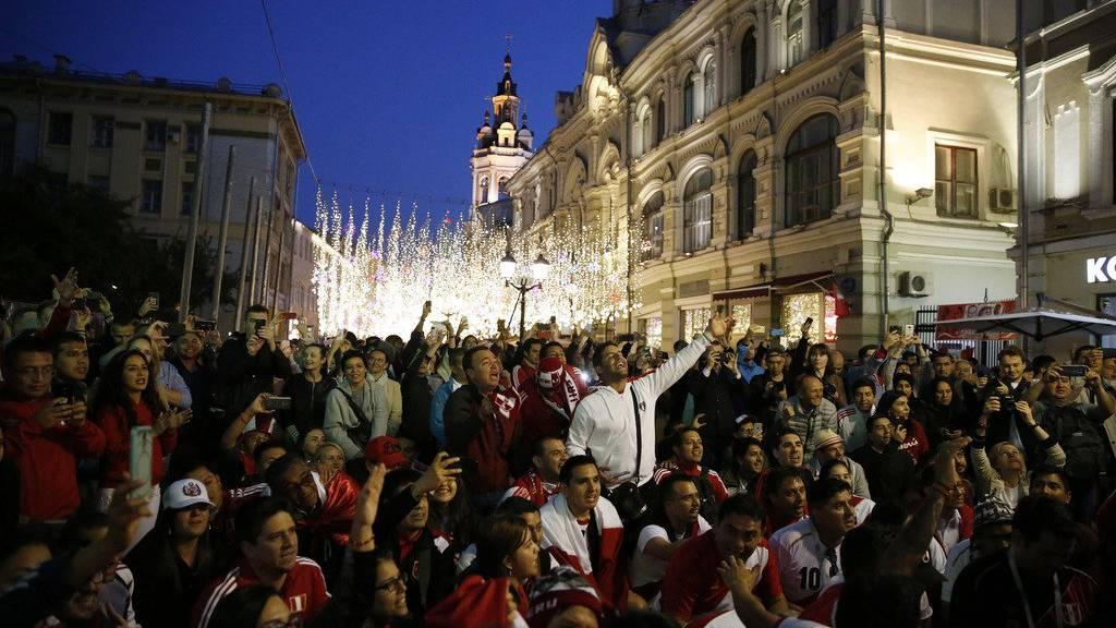 Fans aus aller Welt sind im Fussballfieber.