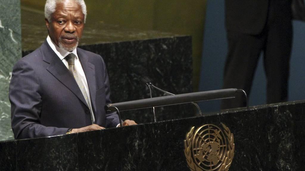 Kofi Annan ist gestorben