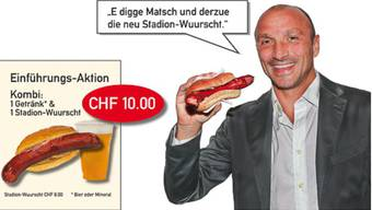 FCB-Wuurscht: Premiere gegen St. Gallen.