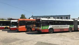 RVBW-Busse in Rumänien