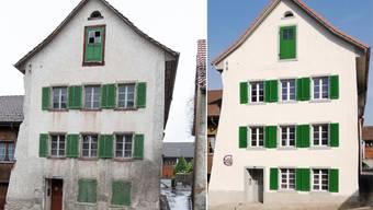 Das alte Haus am Goldgässli in Klingnau