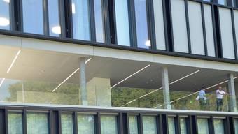 Das BBZ Solothurn-Grenchen wird eingeweiht