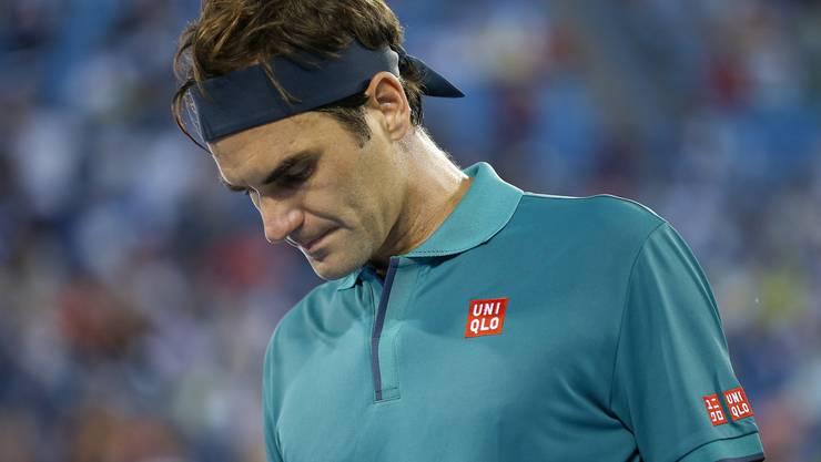 Roger Federers Erinnerungen an seine fünf Siege bei den US Open sind längst verblichen. Der letzte liegt bereits elf Jahre zurück (Keystone).