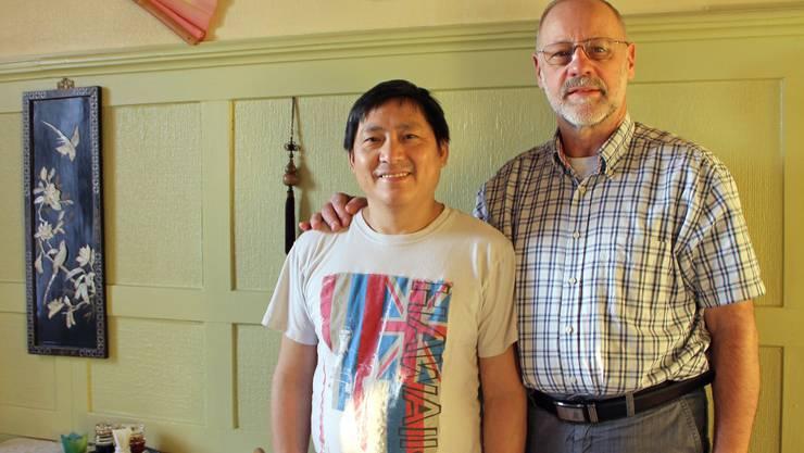 Ka Seng Ha und Bruno Moser schliessen ihr chinesisches Restaurant im Frohsinn Bözen Ende Januar 2013.