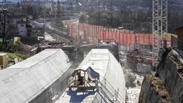 Die Aufträge für den Ceneri-Basistunnel werden neu ausgeschrieben