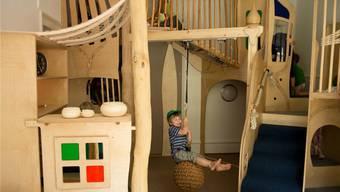 Das Schilling-Raumkonzept lädt die Kinder zum bewegten Spielen ein.