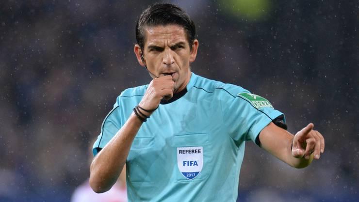 """Deniz Aytekin wurde im vergangenen Sommer vom DFB als """"Schiedsrichter des Jahres 2019"""" ausgezeichnet"""