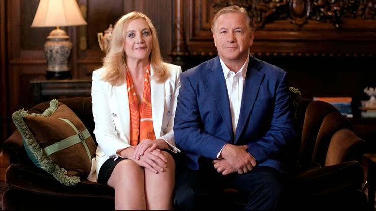 Patricia und Mark McCloskey am Parteitag der Republikanischen Partei 2020