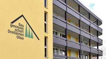 In Olten sind sieben Wohnbaugenossenschaften tätig.