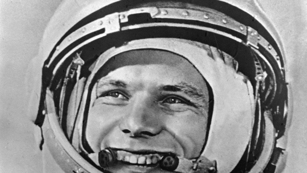 Am Samstag wurde in Moskau des Weltraumpioniers Juri Gagarin gedacht. Der 1968 verstorbene sowjetische Kosmonaut wäre heute 85 Jahre alt geworden. Gagarin war der erste Mensch im Weltall. (Archivbild)