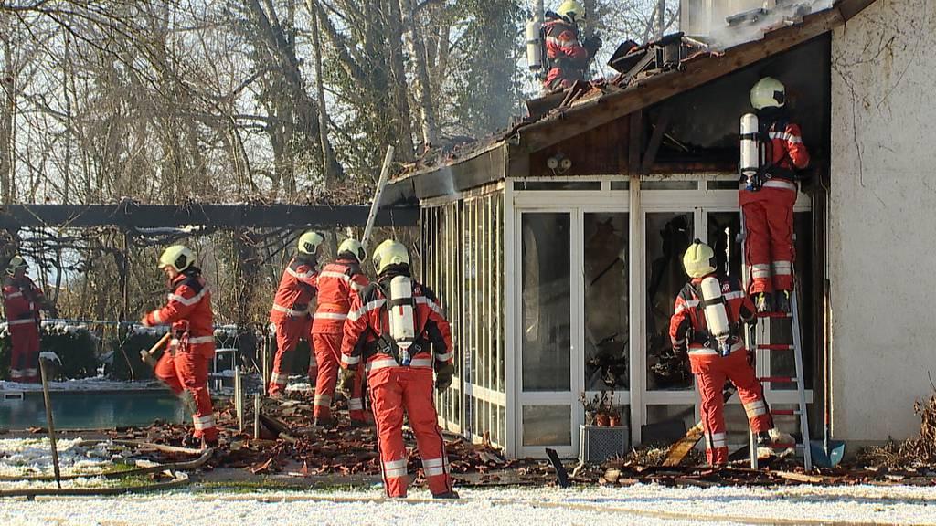 Oberstammheim: Brand in Einfamilienhaus verursacht hohen Sachschaden