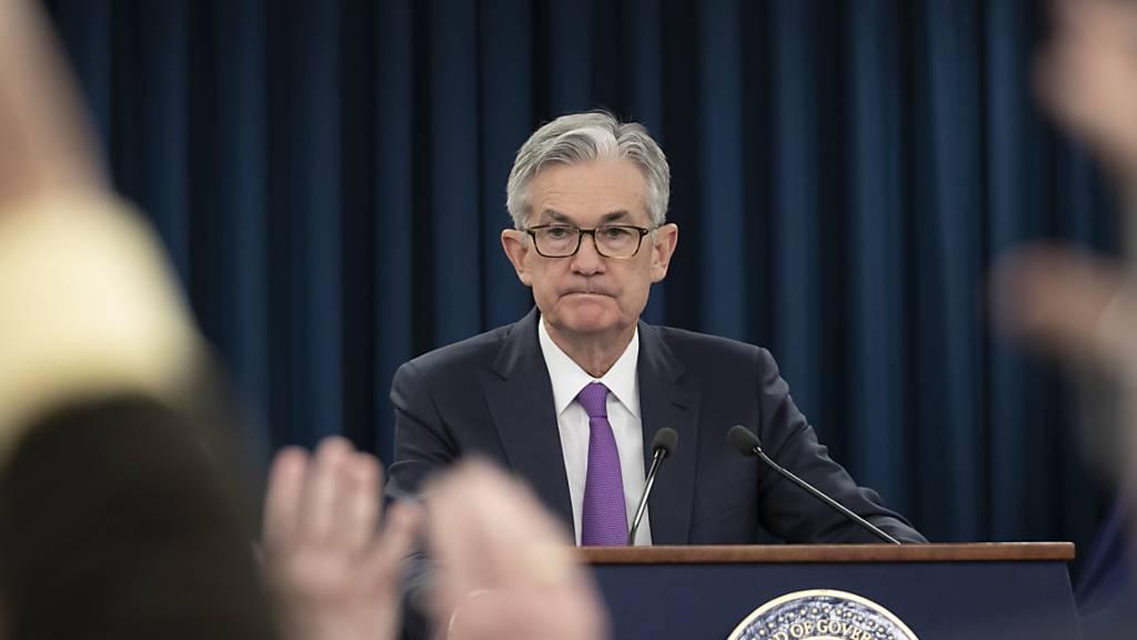 US-Notenbankchef Jerome Powell will laut einer vorab publizierten Rede alles in seiner Macht stehende tun, um die Coronavirus-Krise rasch überwinden zu können. (Archivbild)