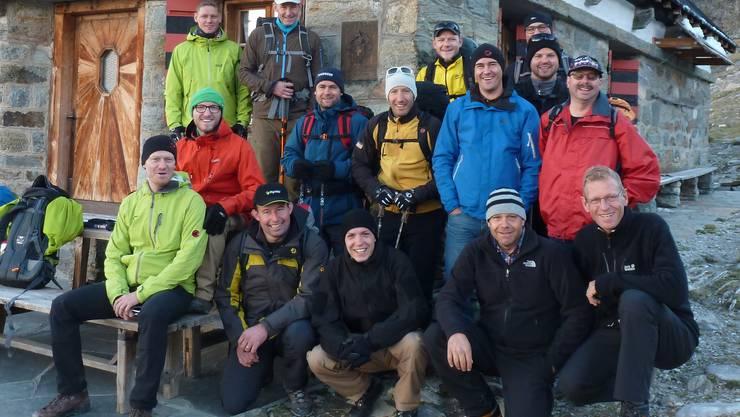 Zusammengeschweisst durch die gemeisterte Herausforderung: 15 Mann der Feuerwehr Lostorf Stüsslingen Rohr