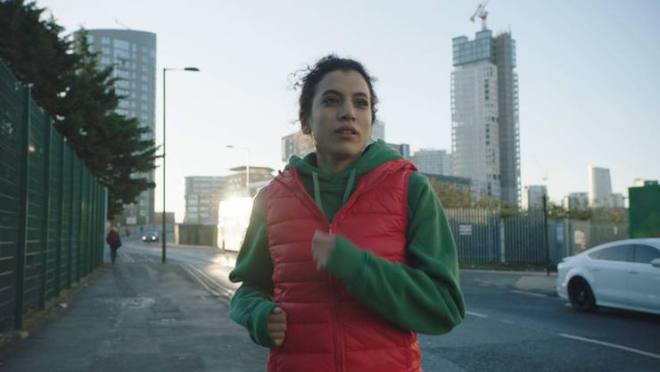 Amal (gespielt von Zahraa Ghandour) in «Baghdad in my Shadow».