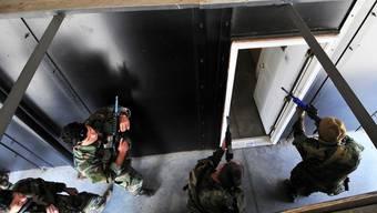 Die Spezialeinheit «Seals» der U.S. Navy im Training (Bild von 2010).