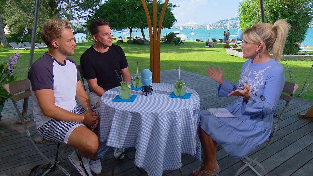 Sven Epiney und Michael Graber