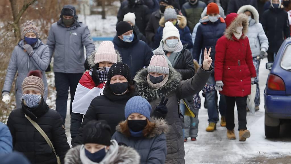 SRF-Journalistin nach Festnahme in Minsk wieder auf freiem Fuss