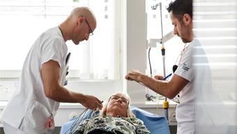 Laut Margrit Kessler werden die Patienten beider Basel von der Spitalfusion profitieren.Archiv/Hanspeter Bärtschi
