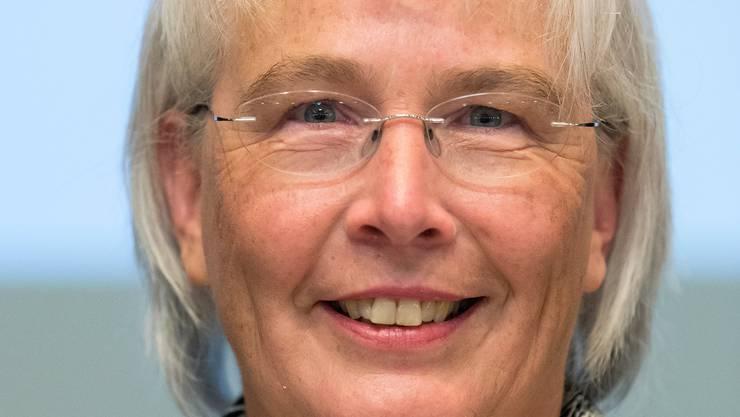 Marion Schafroth, die neue Präsidentin von Exit.