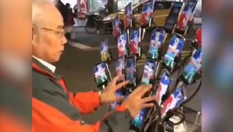 Dieses Video von Chen San-Yuan geht im Netz gerade viral.