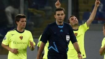 Der FC Basel gewinnt in Rom