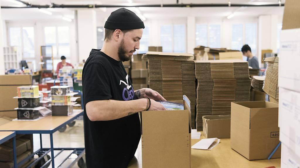 Boom im Onlinehandel lässt wieder nach